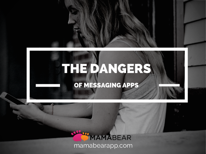 dangers messaging app