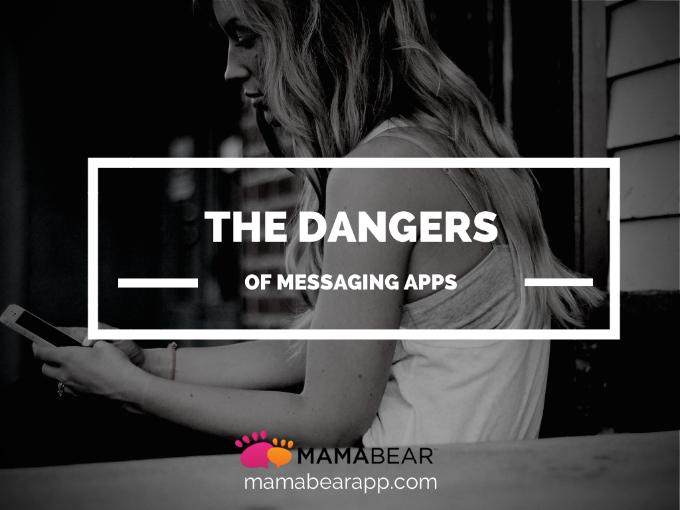 dangers messaging app