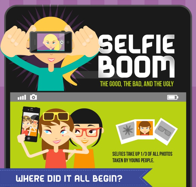 "Wondering how the ""selfie"" became a social epidemic? Get the fact here."