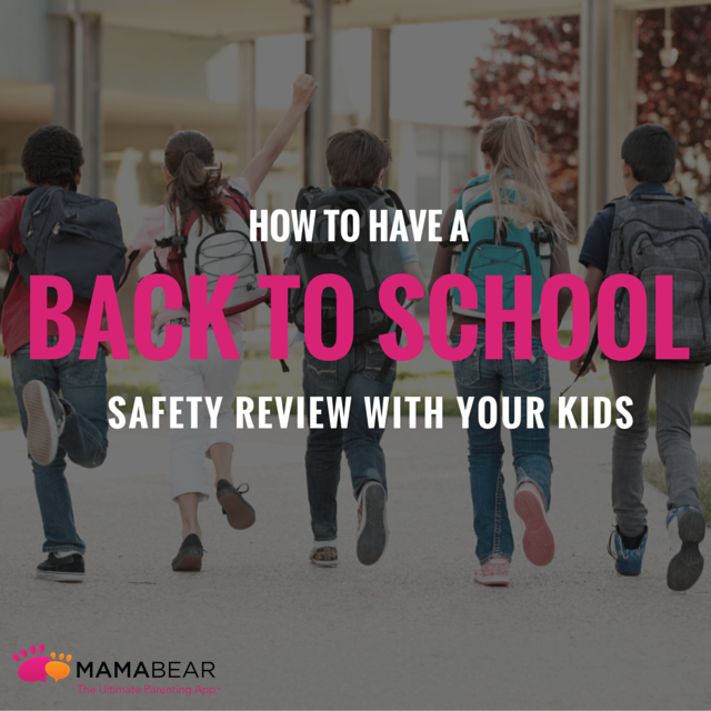 The beginning of the school year is the perfect time to review important back to school safety rules to help set the stage for a great and safe new year.