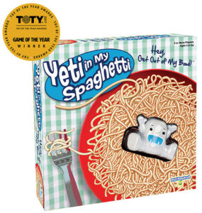 Yeti in My Spaghetti game box