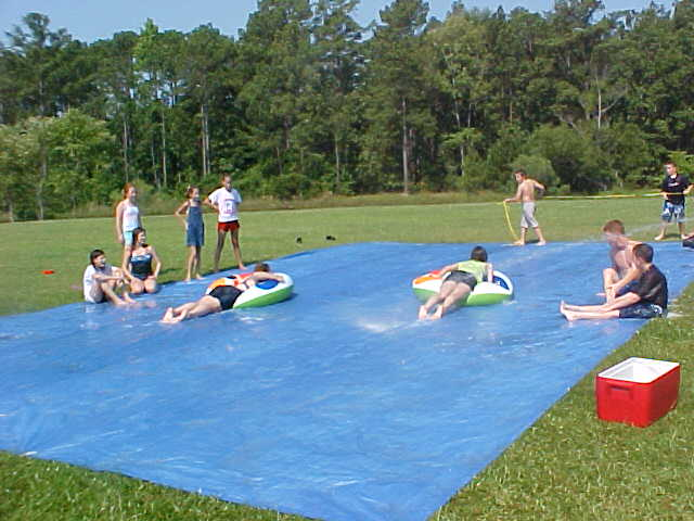 Slip And Slide Races Mamabear App